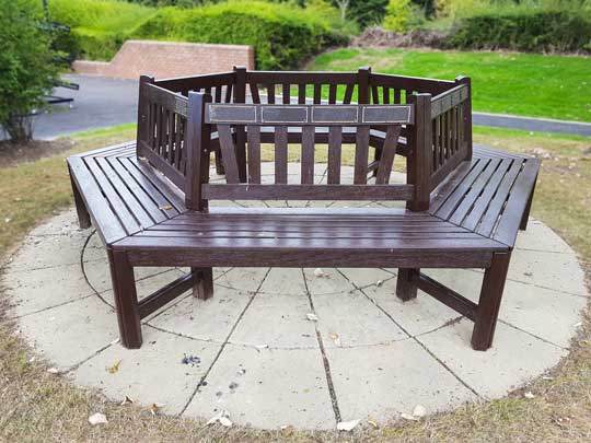 Image of our Memorial Benches and Plaques